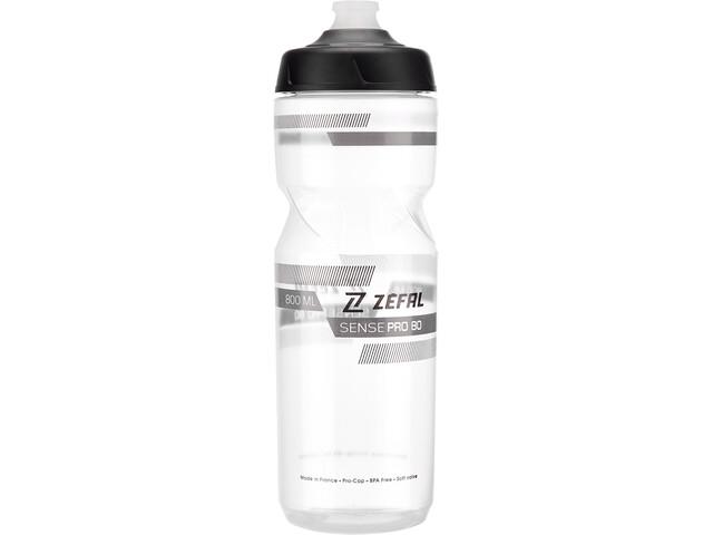 Zefal Sense Pro Trinkflasche 800ml transparent